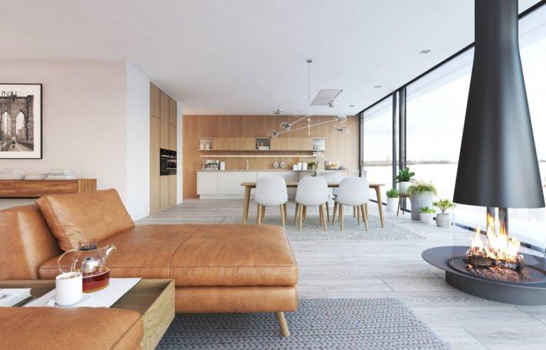 rénovation de villa à Hainaut